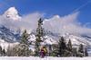 Mountain biker in Grand Teton Nat'l Park, Wyoming - 8 - 72 ppi