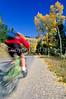 Biker on Gros Ventre Road Teton Nat'l Forest near Grand Teton Nat'l Park - rename 3 - 72 ppi-2
