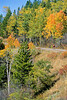 Biker on Gros Ventre Road Teton Nat'l Forest near Grand Teton Nat'l Park - 3 - 72 ppi