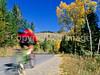 Biker on Gros Ventre Road Teton Nat'l Forest near Grand Teton Nat'l Park - rename 4 - 72 ppi-2