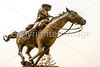 Texas - Buffalo Soldier Memorial in El Paso at Fort Bliss - C3-0074 - 72 ppi