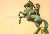 Texas - The Last Conquistador statue at El Paso Internat'l Airport - C3-0140 - 72 ppi