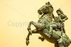Texas - The Last Conquistador statue at El Paso Internat'l Airport - C3-0108 - 72 ppi