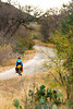 Texas - Cyclist near Fort Lancaster State Historical Site - C8a-'08-1010 - 72 ppi