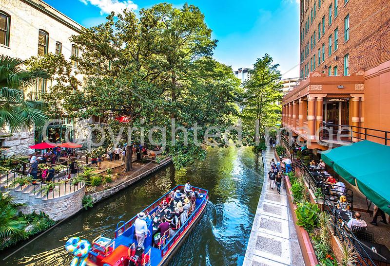 River Walk in San Antonio, Texas - C2-0012 - 72 ppi