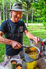 ACA - TransAm - Farmington to Johnson's Shut-Ins - C2-0344 - cooking duty in camp at Johnson's Shut-Ins - 72 ppi