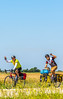 ACA - West-to-East TransAm riders seen near Coyville, Kansas  - C1-0646 - 72 ppi-2
