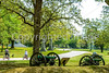 B tn shiloh - 3-wheel bikers at Shiloh National Military Park in Tennessee - 300 dpi - 72 ppi