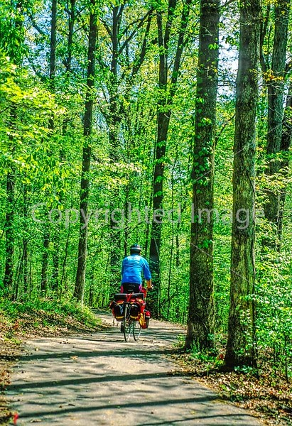 B ky lbl - OR - Biker in Land Between the Lakes 24 - 300 dpi - 72 ppi