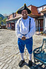 L al mobile - Costumed interpreter at Fort Conde Visitor Center in downtown Mobile, Alabama - mobi0176 - 300 dpi - 72 ppi