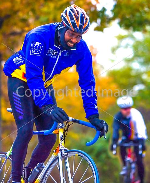 Major Taylor Cycling Club rider on UGRR near Columbus, Ohio
