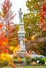 Civil War monument in Spring Grove Cemetery in Medina, OH -0007 - 72 ppi