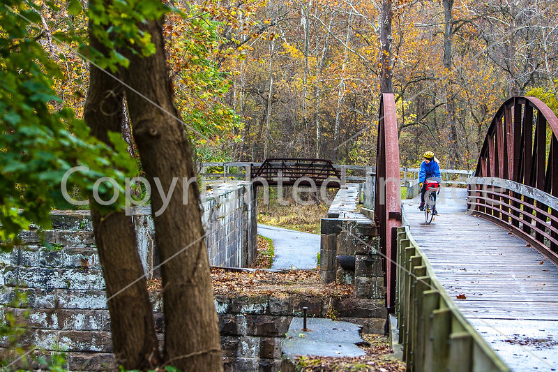 UGRR rider in Cuyahoga Valley Nat  Park, Ohio -0158 - 72 ppi
