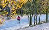 Cyclist, Presque Isle State Park, near Erie, PA -0377 - 72 ppi-2