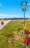 TransAm rider on US 76 Bike Route--TransAmerica Trail near St  Mary's, Missouri - C2- - 72 ppi-4