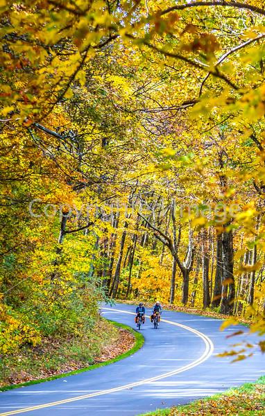 TransAm & Bike Route 76 riders on Blue Ridge Parkway, VA - C3-0425 - 72 ppi-2