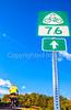 Cyclist on US 76 & TransAmerica Trail near St  Mary's, Missouri - C2- - 72 ppi