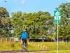 Day riders on US 76 Bike Route--TransAm near St  Mary's, Missouri - C1-0008 - 72 ppi-2