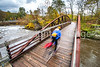 Biker in Cuyahoga Valley Nat'l Park, Ohio - -0058 - 72 ppi