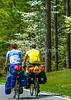 B ms natchez - Cyclists on Natchez Trace near Tishomingo, Mississippi - d5__0197 - 72 ppi