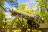 Cannon in Fort Donelson National Battlefield in Tennessee - 72 ppi