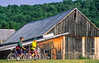 Cyclists at Calvin Coolidge Homestead at Plymouth Notch, Vermont - 10 - 72 ppi