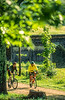 Cyclists at Calvin Coolidge Homestead at Plymouth Notch, Vermont - 7 - 72 ppi