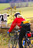 Biker on Confederate bank robbers' trail north of Enosburg Falls, VT-0298 - 72 ppi-3