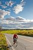 Biker on Confederate bank robbers' trail north of Enosburg Falls, VT-C2--0348 - 72 ppi