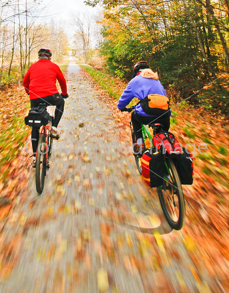 Cyclist(s) on Vermont's Missisquoi Valley Rail Trail-0049 - 72 ppi-3