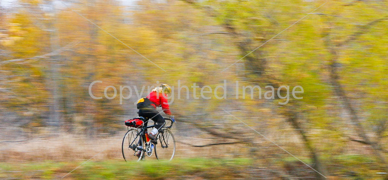 Cyclist at St  Albans Bay State Park, Vermont-0045 - 72 ppi-2