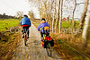 Cyclist(s) on Vermont's Missisquoi Valley Rail Trail - 2 -0364 - 72 ppi