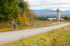 Biker on Confederate bank robbers' trail north of Enosburg Falls, VT-0443 - 72 ppi