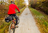 Cyclist(s) on Vermont's Missisquoi Valley Rail Trail- - 72 ppi