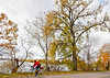 Cyclist at St  Albans Bay State Park, Vermont-C2--0070 - 72 ppi