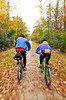 Cyclist(s) on Vermont's Missisquoi Valley Rail Trail - 2 -0440 - 72 ppi