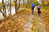 Cyclist(s) on Vermont's Missisquoi Valley Rail Trail - 2 -0329 - 72 ppi