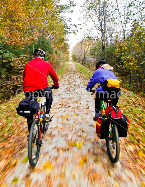 Cyclist(s) on Vermont's Missisquoi Valley Rail Trail-0031 - 72 ppi-2