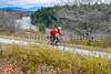 Biker on Confederate bank robbers' trail north of Enosburg Falls, VT-C3--0070 - 72 ppi