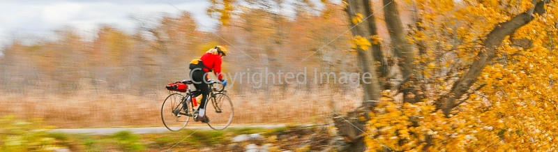 Cyclist at St  Albans Bay State Park, Vermont-0042 - 72 ppi-2