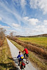 Cyclist(s) on Vermont's Missisquoi Valley Rail Trail-0117 - 72 ppi-2