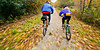 Cyclist(s) on Vermont's Missisquoi Valley Rail Trail - 2 -0444 - 72 ppi-2