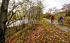 Cyclist(s) on Vermont's Missisquoi Valley Rail Trail - 2 -0285 - 72 ppi