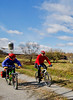 Cyclist(s) on Vermont's Missisquoi Valley Rail Trail-0186 - 72 ppi-2
