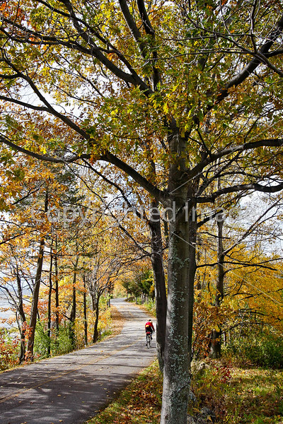 Cyclist -  Kill Kare State Park on St  Albans Bay, Vermont-C2--0218 - 72 ppi