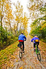 Cyclist(s) on Vermont's Missisquoi Valley Rail Trail - 2 -0448 - 72 ppi