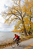 Cyclist -  Kill Kare State Park on St  Albans Bay, Vermont-C2--0172 - 72 ppi