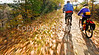 Cyclist(s) on Vermont's Missisquoi Valley Rail Trail - 2 -0301 - 72 ppi
