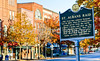 Civil War Raid sign in downtown St  Albans, Vermont-C3--0008 -72 ppi