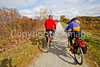 Cyclist(s) on Vermont's Missisquoi Valley Rail Trail-0056 - 72 ppi